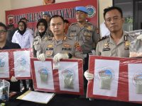 Produksi Psikotropika Jenis Ekstasi, Home Industry Digerebek Sat Narkoba Polres Bogor