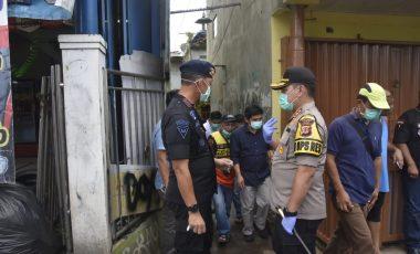 Kapolres Bogor Dampingi Kasat Brimob Polda Jabar Lakukan Pendampingan Revitest ODP Corona