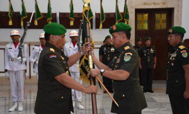 Pangdam III/Siliwangi Pimpin Serah Terima Jabatan Danrem 061/Suryakancana