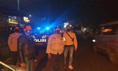 Cegah Tindak Kejahatan di Bulan Ramadhan, Polsek Cileungsi Rutin Laksanakan Patroli Malam
