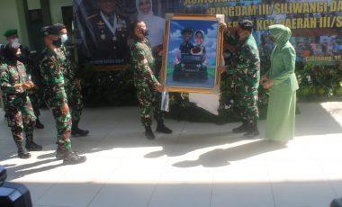 Danrem 061/SK Dampingi Pangdam III/Siliwangi Laksanakan Kunjungan Kerja dan Pamitan Dengan Jajaran Korem 061/SK di Kodim 0621
