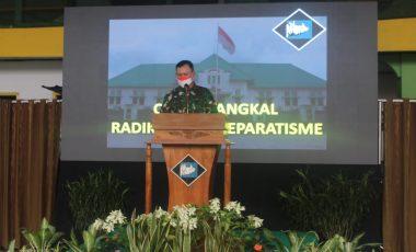 Danrem 061/SK Berikan Paparan Komunikasi Sosial Cegah Tangkal Radikalisme/Separatisme