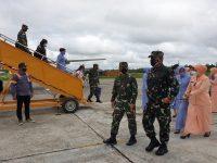 Pangkoopsau III Tinjau Kesiapan Sarana Dan Prasarana PON XX Di Lanud Yohanis Kapiyau Mimika Papua