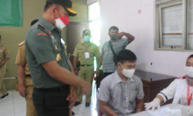 Percepat Vaksinasi, Korem 061/SK Bersama Muspika Gunung Putri Gelar Serbuan Vaksinasi
