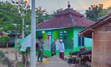 Pasiter Dim 0621/Kab.Bogor: Rehab Mushola Al-Mukminin Diluar Program fisik TMMD ke-112