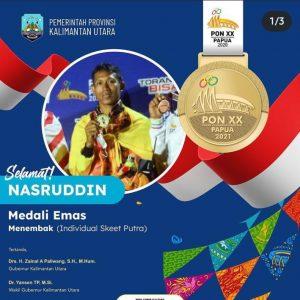 Prajurit Yonarmed 10 Roket/Kostrad torehkan dua prestasi dalam ajang Pekan Olahraga Nasional (PON) XX