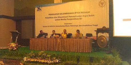 Penguatan Kelembagaan Iptek di IPB Confenion Center Bogor