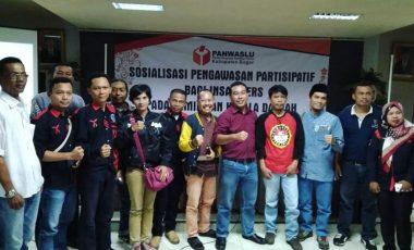 Panwaslu Kabupaten Bogor Gandeng Insan Pers Lakukan Pengawasan Pilkada 2018