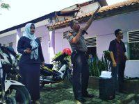Kapolsek Rancabungur Berikan Binluh Dihadapan 500 Pelajar SMK Makarya 1 dan 2