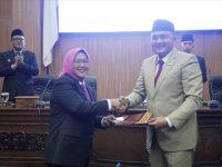 Bupati Bogor Sampaikan Dua Raperda di Sidang Paripurna DPRD