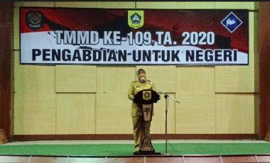 Buka TMMD ke-109, Ade Yasin: Momentum Sinergitas Pemda, TNI dan Polri Membangun Wilayah