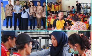 Warga Binaan Gembira Terima Pengobatan Massal di Rutan Depok