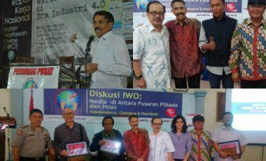 Keluarga Besar Ikatan Wartawan Online Berduka, Pak August Tutup Usia