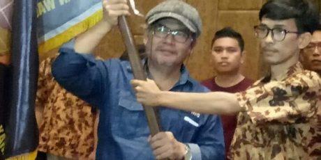 Ega Wartawan Pojok Jabar Resmi Pimpin IWO Karawang