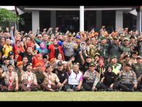 Polres Bogor Laksanakan Apel Gelar Pasukan Operasi Mantap Praja Lodaya 2018
