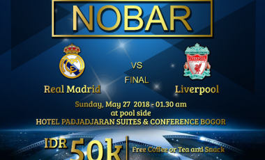 Padjadjaran Suites Hotel Gelar Nobar Final Liga Champions