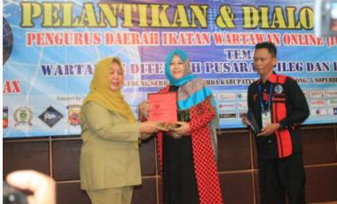 Pelantikan Pengurus Daerah IWO Bogor dan Diskusi Publik Mendapat Apresiasi Banyak Pihak