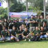 Gathering Tim Call Center PDAM Tirta Pakuan di Villa Aom Megamendung
