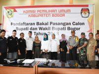 Pengamanan Pendaftaran Cabup dan Cawabub, Polres Bogor Kerahkan 300 Personil