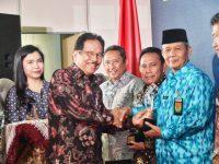 Pemkab Bogor Terima Penghargaan dari Kementerian ATR/BPN