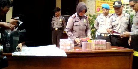 Polresta Bogor Kota Ungkap Kasus Peredaran Uang Palsu