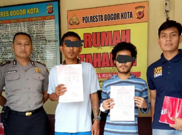 Polresta Bogor Kota Tangkap Pelaku Penyalahguanaan Narkotika Jenis Sabu