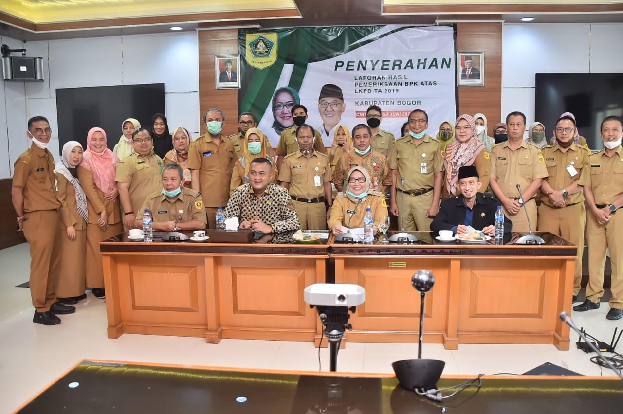 Pemkab Bogor Raih WTP Laporan Keuangan Tahun 2019 dari BPK-RI