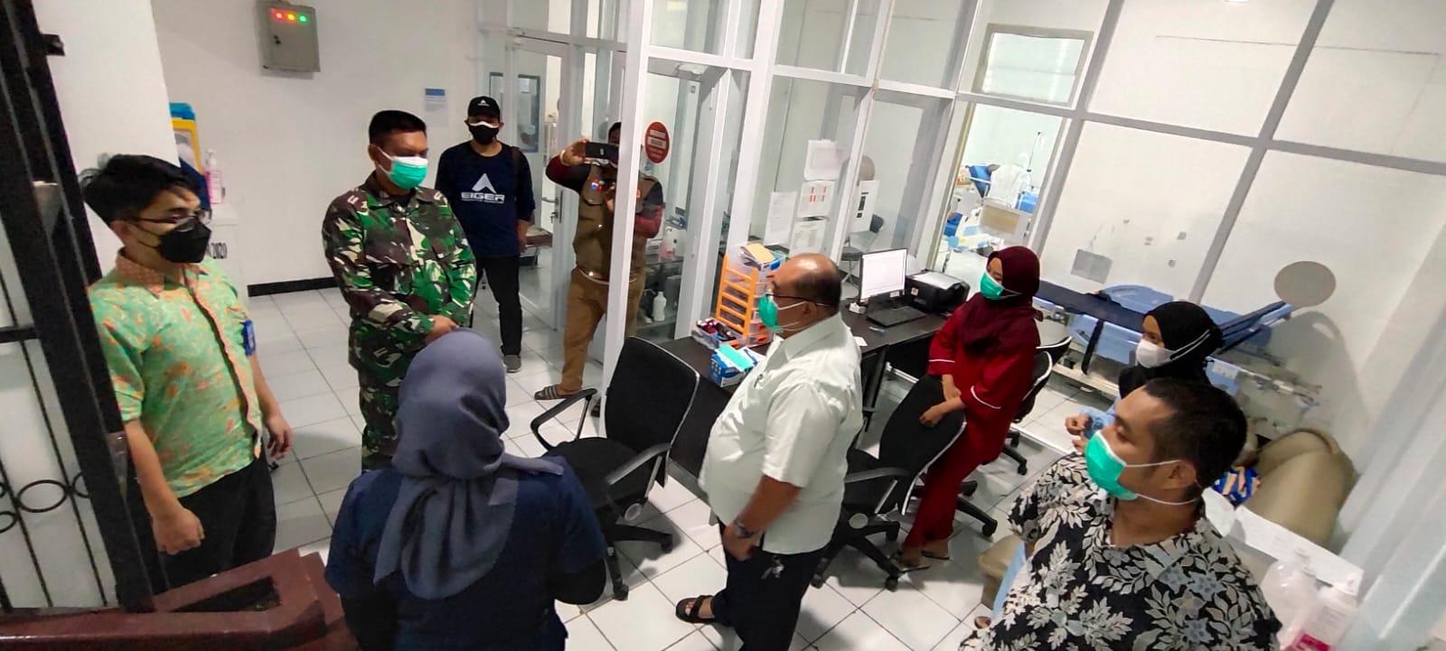 Dandim 0606/KB Tinjau Rumah Sakit Lapangan Untuk Pasien Covid-19